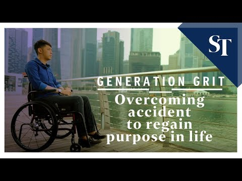 Overcoming accident to regain purpose in life | Generation Grit | The Straits Times