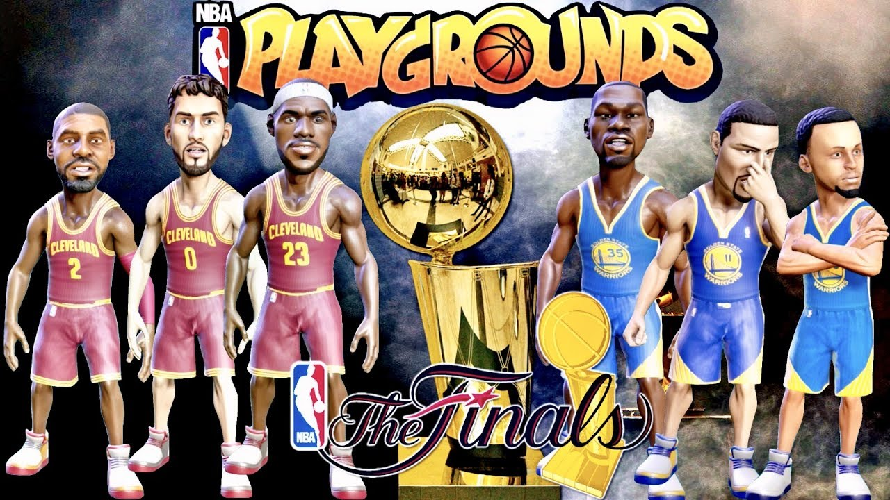 NBA Playgrounds 2017 NBA Finals Edition Game 1!!! | Cleveland Cavs vs.Golden State Warriors ...