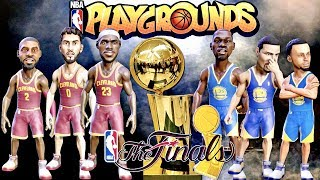Nba playgrounds 2017 nba finals edition game 1!!! | cleveland cavs vs.golden state warriors!!!