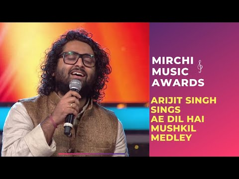 Ae Dil Hai Mushkil medley with Arijit Singh & Jonita Gandhi at Mirchi Music Awards | #RSMMA