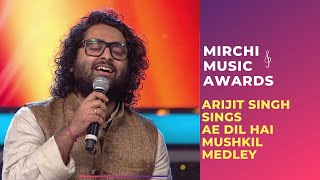 ae dil hai mushkil medley with arijit singh jonita gandhi at mirchi music awards rsmma