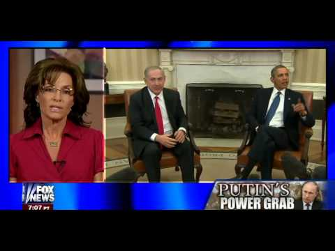 • Governor Sarah Palin on Putin's Power Grab • Hannity • 03/03/14 •