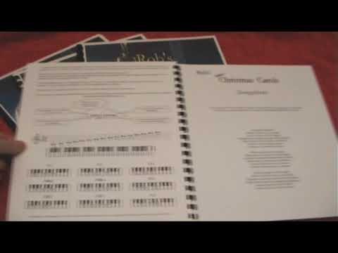 Easy Christmas Carols Songbook for Keyboard