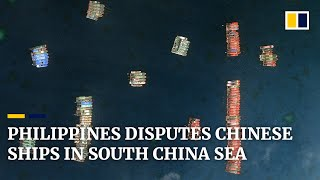 Philippines sounds alarm over 200 Chinese ships in the South China Sea