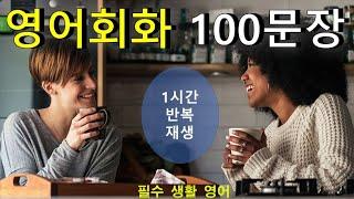 필수 영어회화 100문장 - 생활속에서 100프로 공감…
