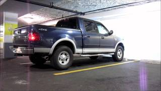 2003 ford f 150 5 4l magnaflow exhaust before and after part 15609 anthonyj350