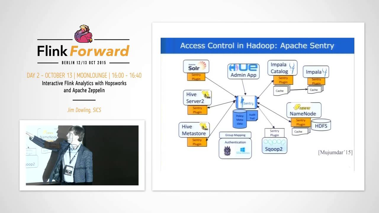 Flink Forward » Interactive Flink Analytics with Hopsworks