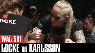 "WAL 501: Victoria ""Biccy"" Karlsson vs Nancy Locke (Official Video)"