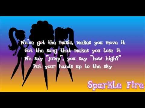 MLP: Rainbow Rocks Under Our Spell - Lyrics