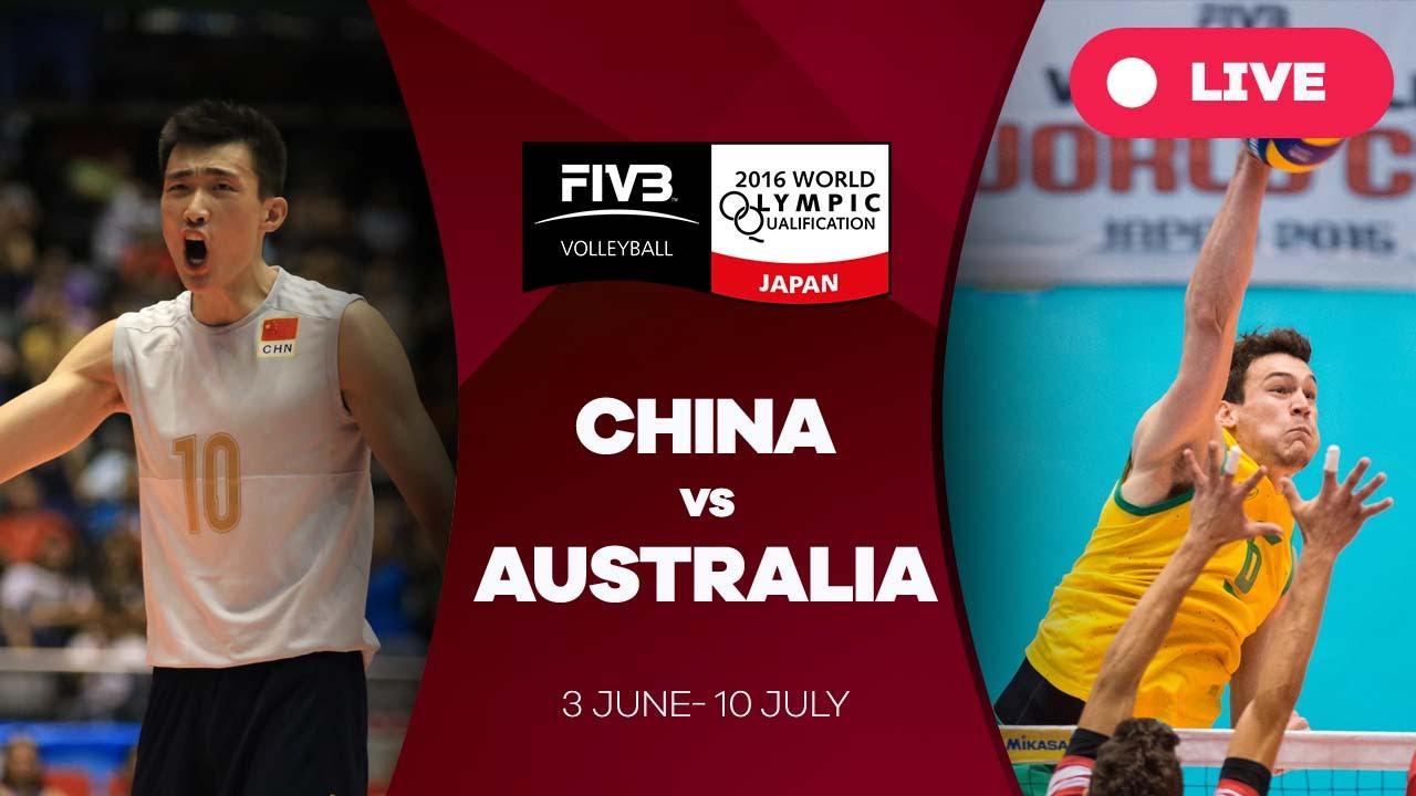 China v Australia - 2016 Men's World Olympic Qualification Tournament