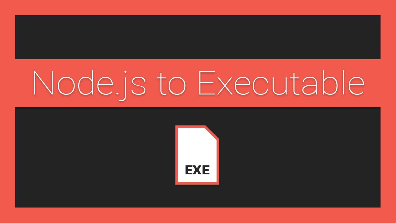 How to Compile your Node.js Application into an Executable Using Nexe