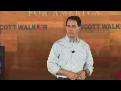 Gov. Scott Walker enters 2016 presidential race