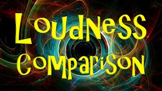 This video gives a comparison for orders of magnitude of loudness f...
