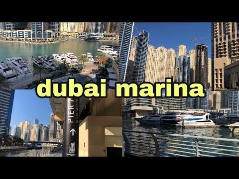 visiting dubai marina / al's experience
