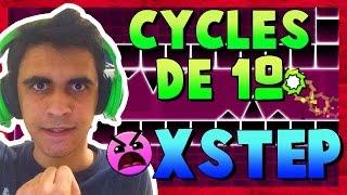 PASSANDO DA CYCLES DE PRIMEIRA E A XSTEP Geometry Dash