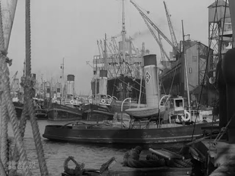 Western Waterway: Bristol Avon - 1941 - CharlieDeanArchives / British Council Archival Footage