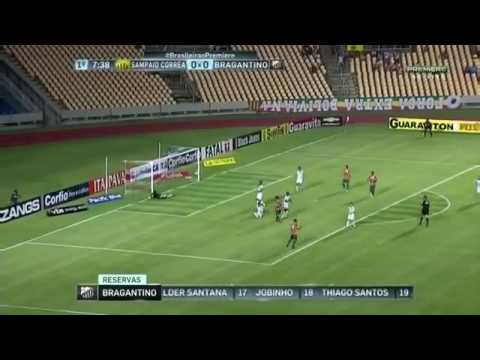 Gols:Sampaio Correa 0x0 Bragantino 31/05/16(Brasileirao serie b)
