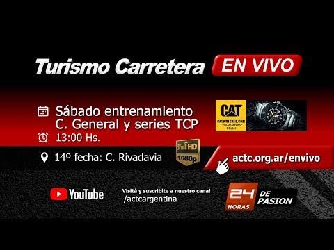 14-2017) C. Rivadavia: Sábado Entrenamientos, Clas. General TC y Series TCP