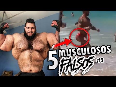 Los 5 Musculosos más falsos del mundo #2   OzielCarmo