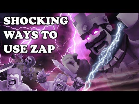 Clash Royale   How to Use Zap: Synergy - Advanced Tech