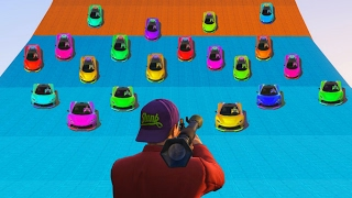 SURVIVE THE SUPER CAR AVALANCHE! (GTA 5 Funny Moments)