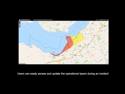 Esri Canada's Operations Response Viewer
