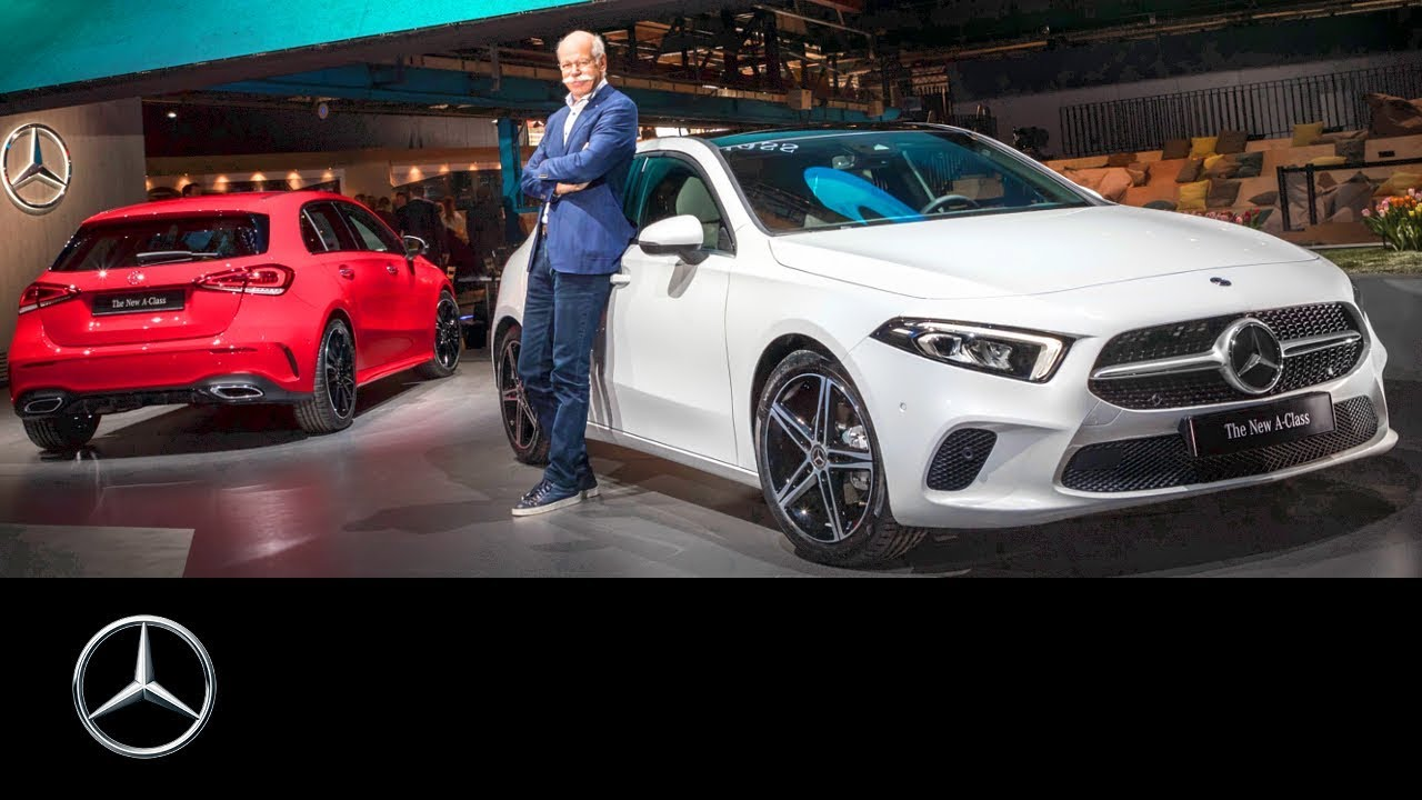 Mercedes Benz A Class 2018 World Premiere Reveal Youtube