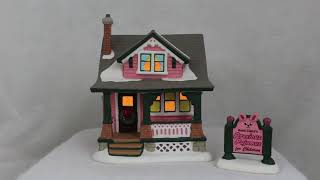 Aunt Clara's House from Dept 56 A Christmas Story Village