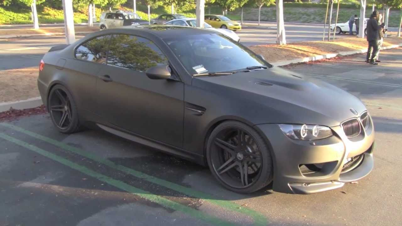 2008 BMW 335Xi >> BMW M3 COUPE BLACKED OUT - YouTube