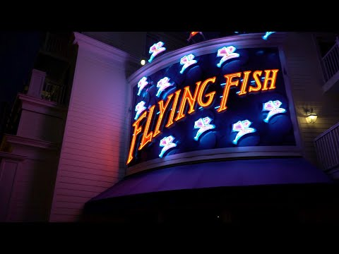Dinner At Flying Fish | Disney's Boardwalk