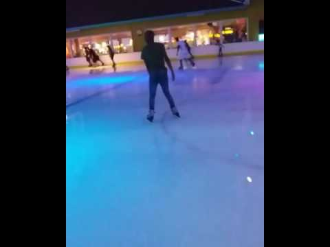 Ice Rink skating, Galleria Mall, Durban South Africa.