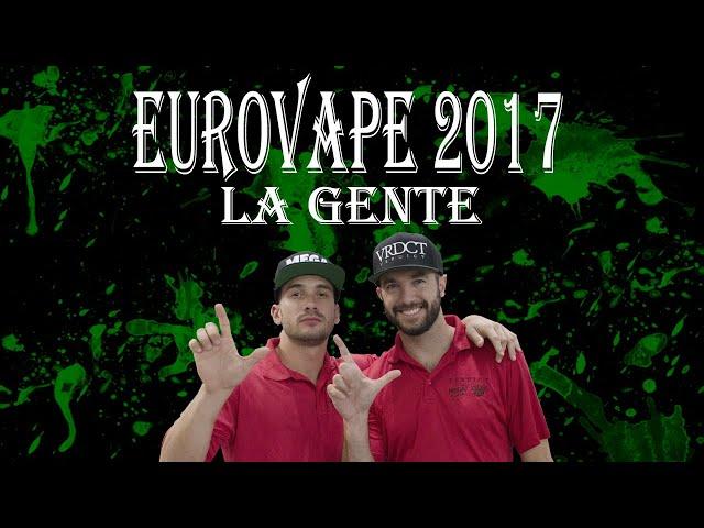 Eurovape madrid 2017. La gente