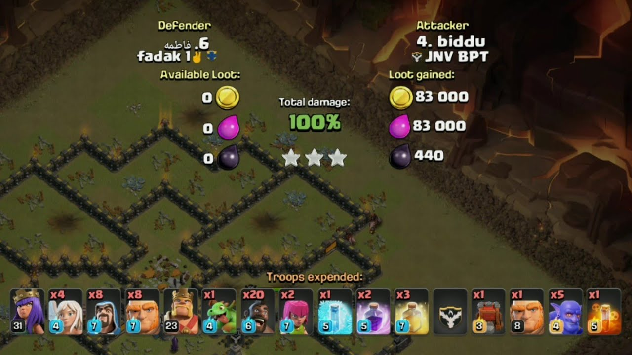 Th10 - Best War Attacks Army Composition | Clashofclan | Th10 attack  Strategy