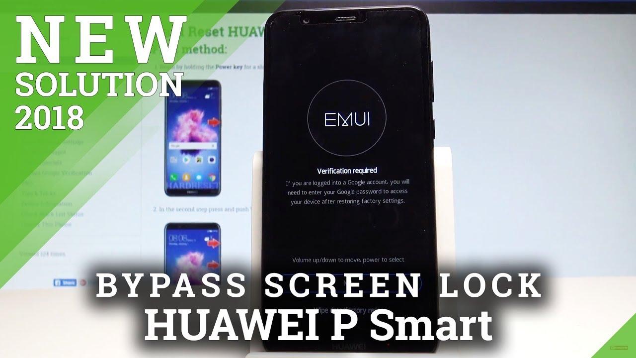 Hard Reset HUAWEI P Smart - HardReset info