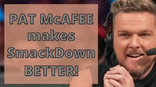 WWE Reaction: PatMcAfee on Smackdown | WWE Smackdown Podcast | WWE Podcast