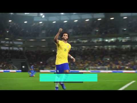 PES 2018 Long distance missile from Marcelo, Brazil vs France - Sofa Gamers
