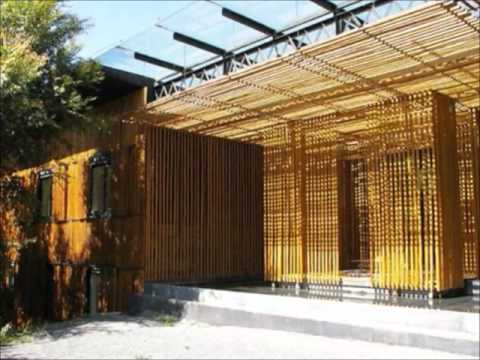 Kengo Kuma The Great Bamboo Wall Youtube