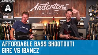 Affordable Bass Shoot Out - Sire M2 vs. Ibanez SR300EB - Both under £250