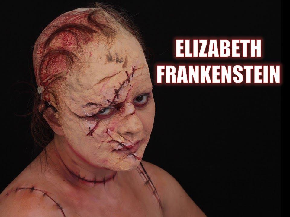 ELIZABETH FRANKENSTEIN MAKEUP TUTORIAL - YouTube