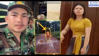 ទីបំផុតនារីជាប្រពន្ធដែលប្តីជានាយទាហានចោទថាក្បត់ផិតនោះចេញេវីដេអូបកស្រាយ|Khmer News Sharing