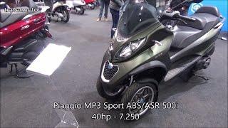 The Piaggio 2017 Scooters