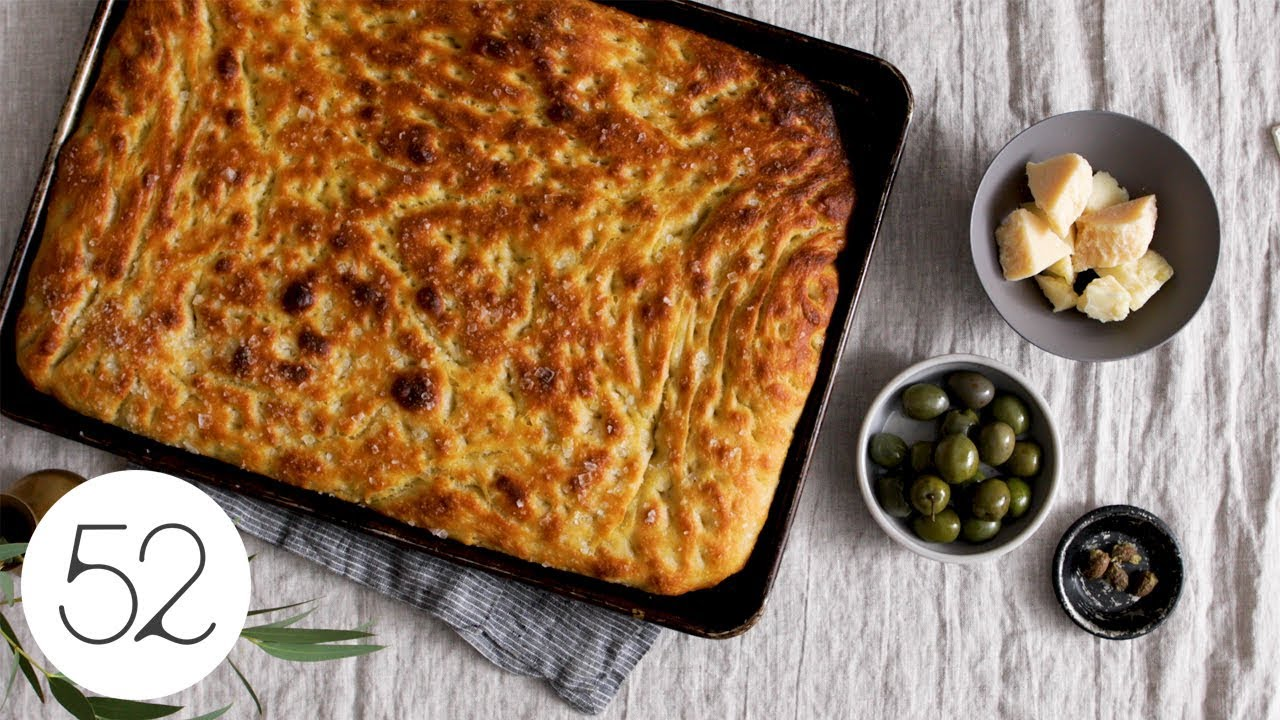 How To Make Focaccia Food52 Delta Youtube