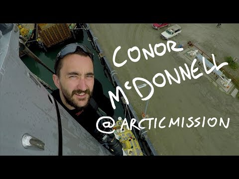 Q&A with Arctic Mission's Photographer  Conor McDonnell