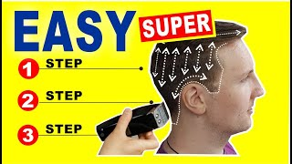 QUICK \u0026 EASY HOME HAIRCUT TUTORIAL |  How To Cut Men's Hair With Clippers