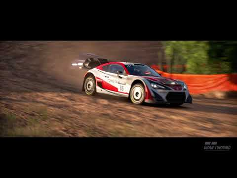 Gran Turismo Sport Toyota 86 Gr.B Rally Car Fishermans Ranch Demo Replay
