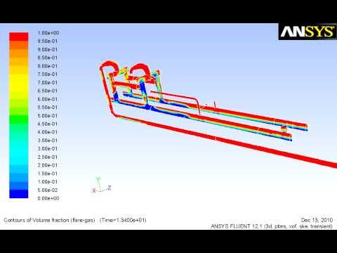 Slug catcher CFD analysis for Select Engineering