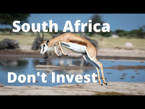 Don't invest in South Africa shares or Real Estate/Property