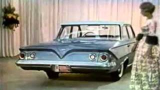 1961 Chevrolet Commercial With Dinah Shore