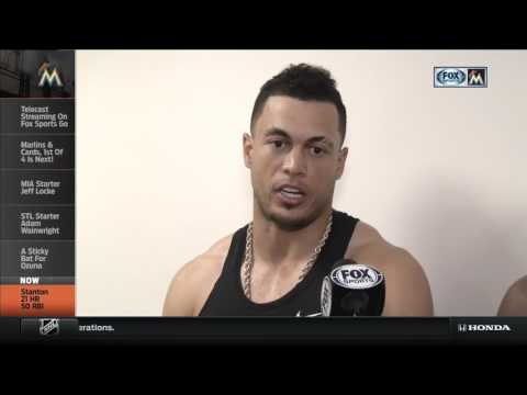 Giancarlo Stanton on Being an All-Star