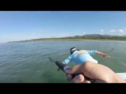 Inshore Fishing Costa Rica- Catching And Eating BIG SNOOK And Snapper